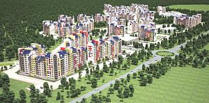 Целый мини-город в Воронеже строится с применением каменной ваты ТЕХНОНИКОЛЬ