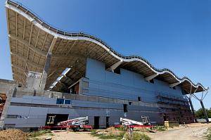 Каменная вата выбрана для устройства кровли нового терминала аэропорта в Одессе