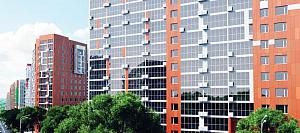 Высокий уровень безопасности фасадов ЖК «Московский» в Уфе достигается с каменной ватой ТЕХНОНИКОЛЬ