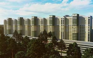 Каменная вата ТЕХНОНИКОЛЬ повышает безопасность кровли и фасадов жилого комплекса в Раменском