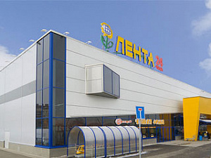 Мягкая кровля гипермаркета «ЛЕНТА» в Курске теплоизолирована базальтовыми плитами ТЕХНОРУФ