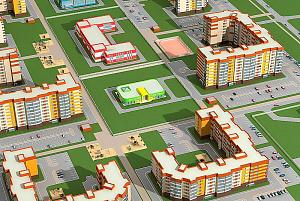 Изоляция домов микрорайона «Тундровый» выполнена каменной ватой ТЕХНОНИКОЛЬ